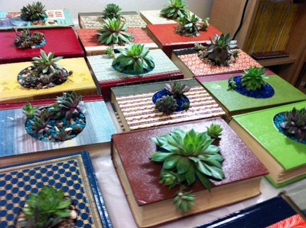 1 book planters