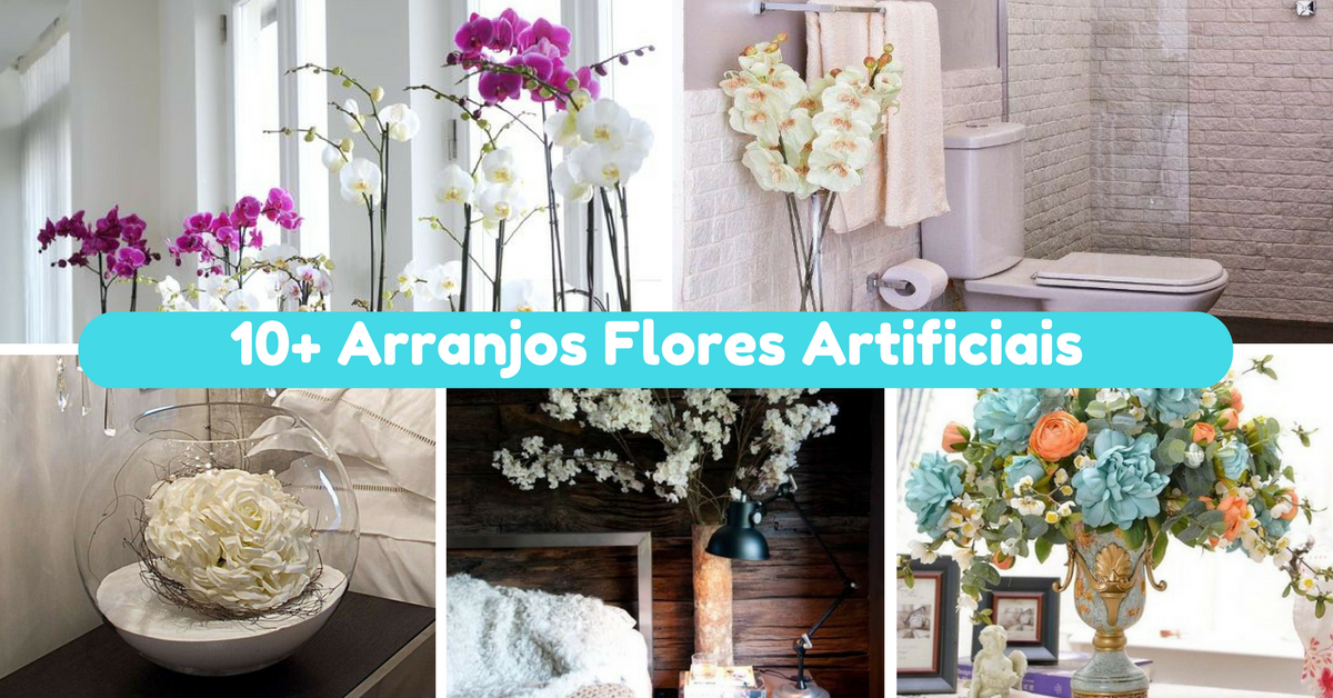 Arranjos Flores Artificiais