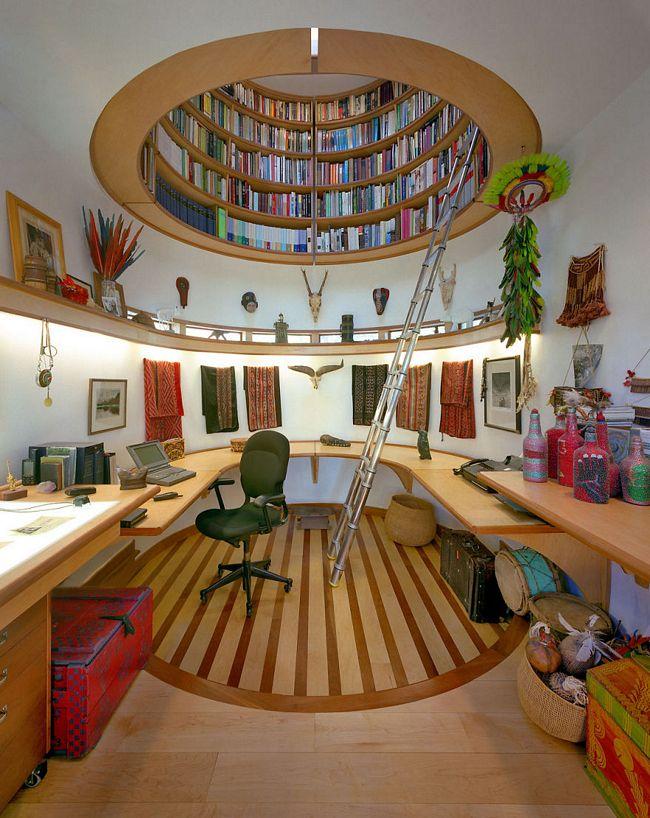Biblioteca teto