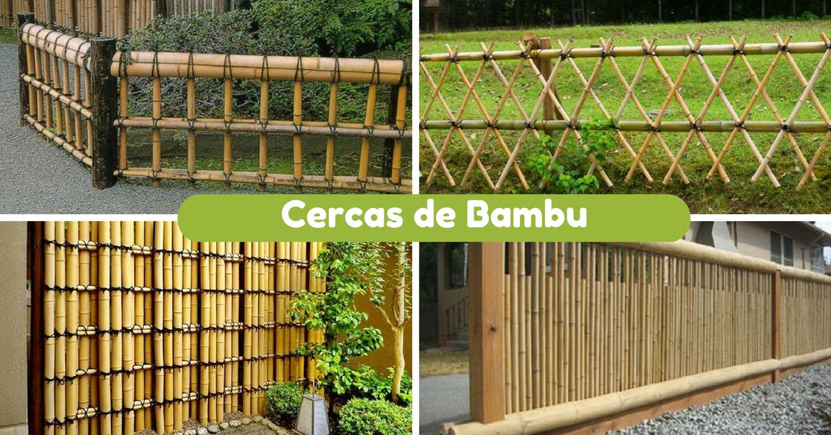 10 Ideias De Cercas De Bambu