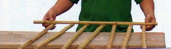 DIY Cerca Bambu 1