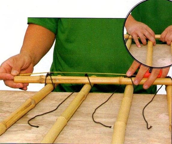DIY Cerca Bambu 2