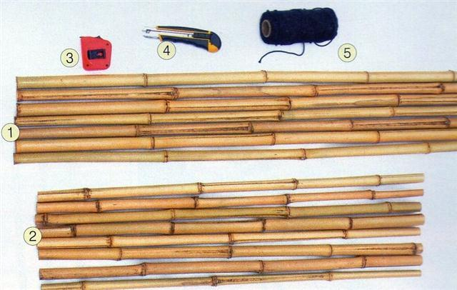 DIY Cerca Bambu