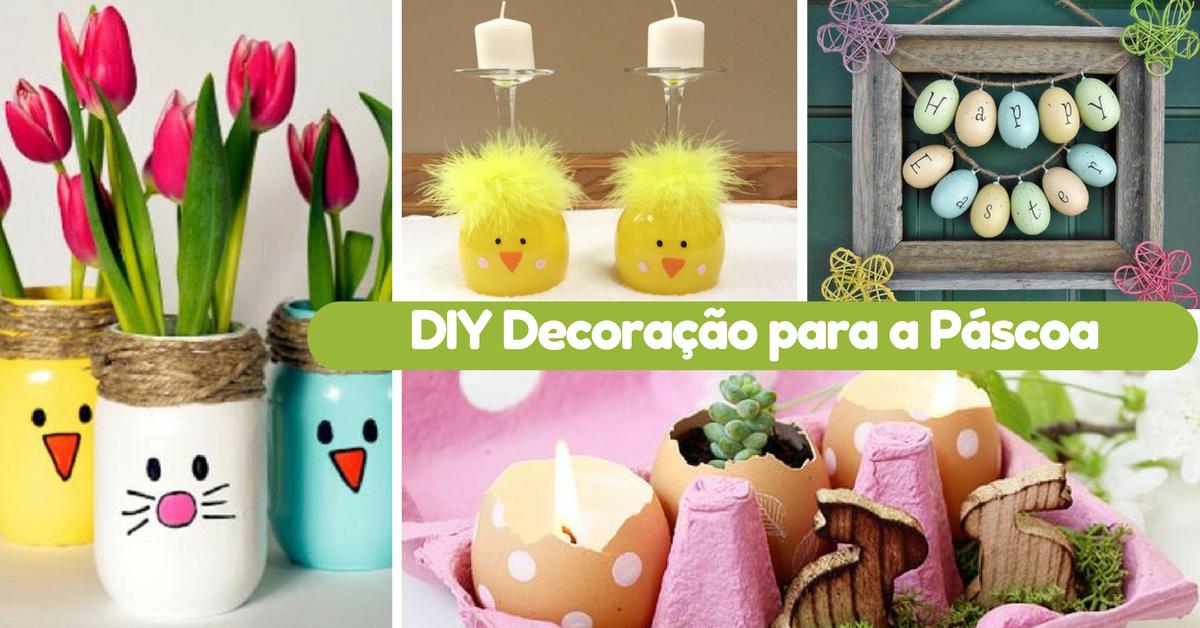 DIY Decoração para a Páscoa