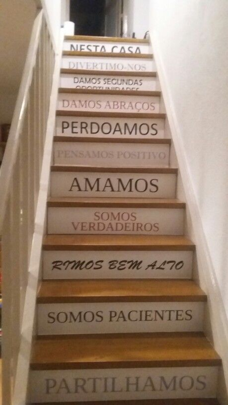 DIY Decorar Escadas