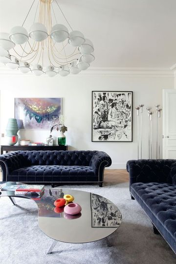 Decoracao sofas chesterfield 7