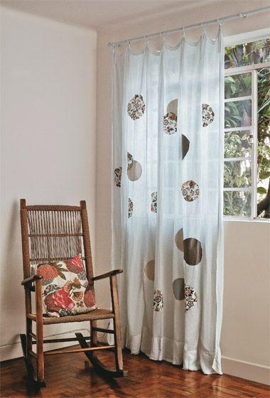 Dicas Customizar reformar cortinas