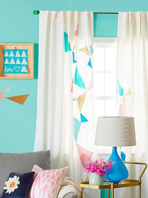 Dicas customizar reformar cortinas 12
