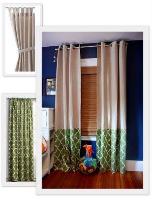 Dicas customizar reformar cortinas 6