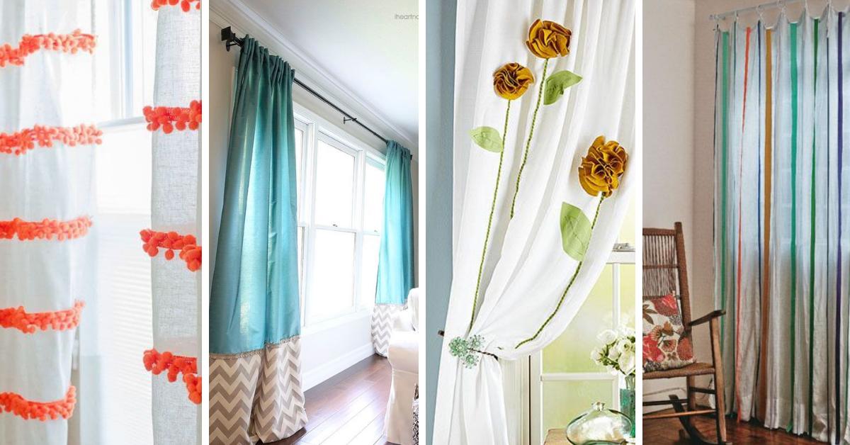 Dicas para Customizar ou reformar suas cortinas