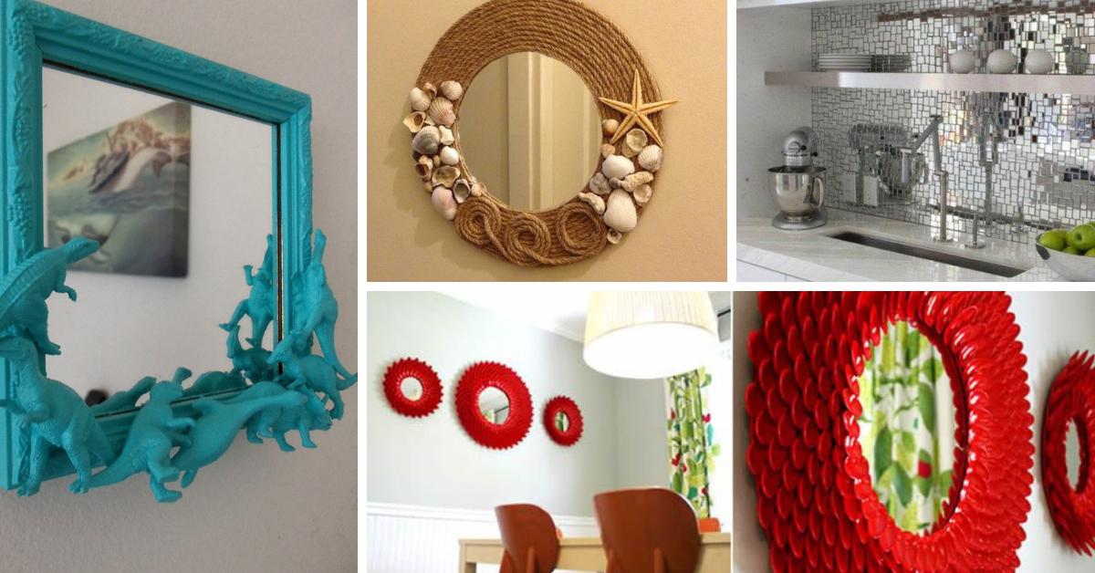 Espelhos Decorativos ideias passo passo