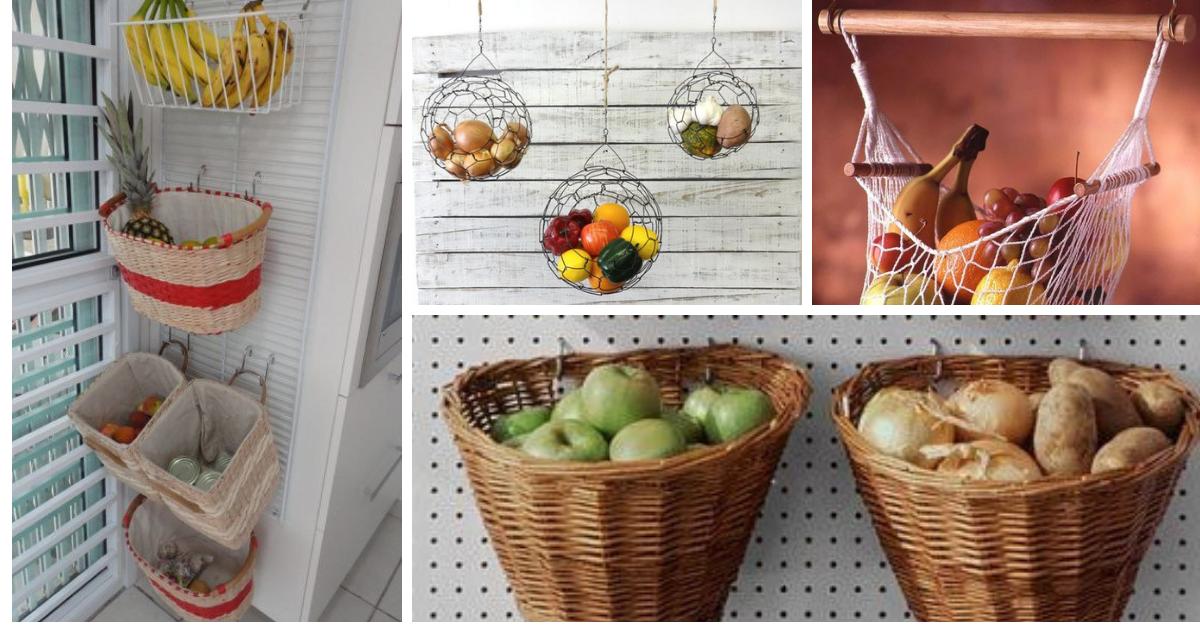 Guardar Frutas e Verduras