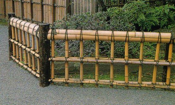 Ideias cercas bambu 3