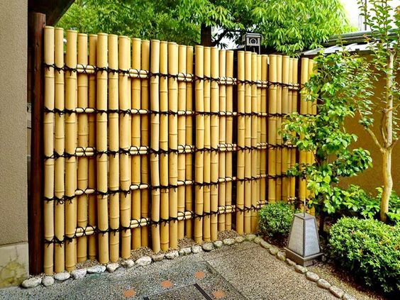 Horizontal Fence Ideas Diy