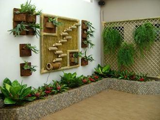 Ideias cercas bambu 6