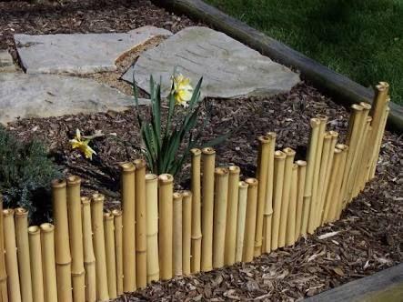 Ideias cercas bambu 9