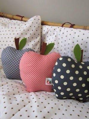 almofadas divertidas decoraçao forma fruta