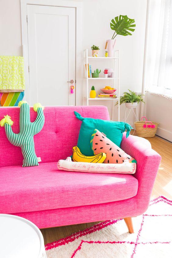almofadas divertidas decoraçao melancia