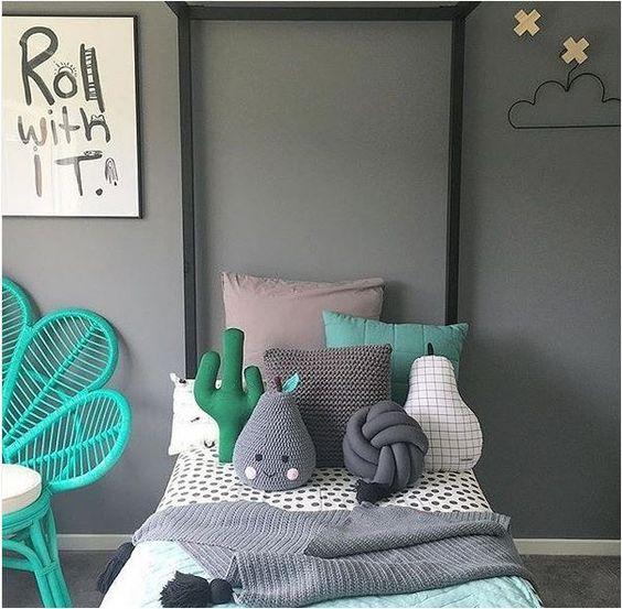 almofadas divertidas decoraçao simples