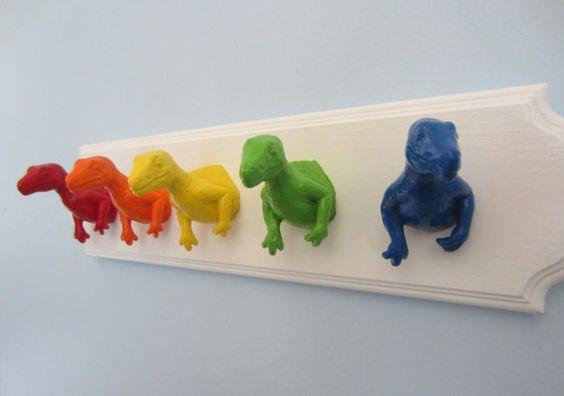 animais de plástico decoracao 1