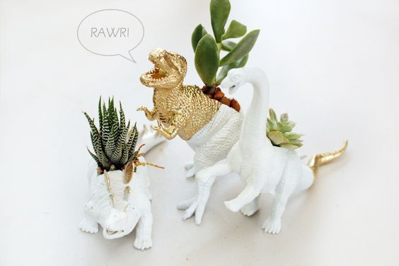 animais de plástico decoracao 3