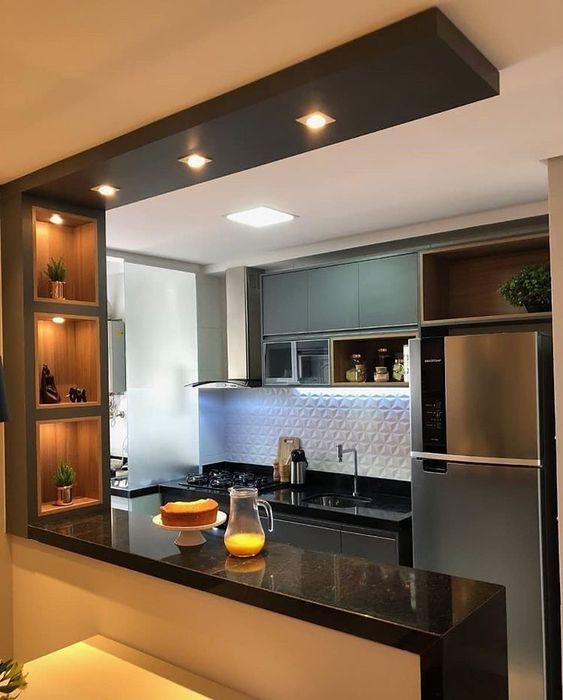 armario cozinha planejado moderna