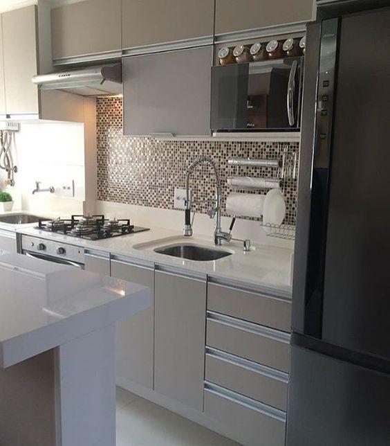 armario cozinha planejado pequena