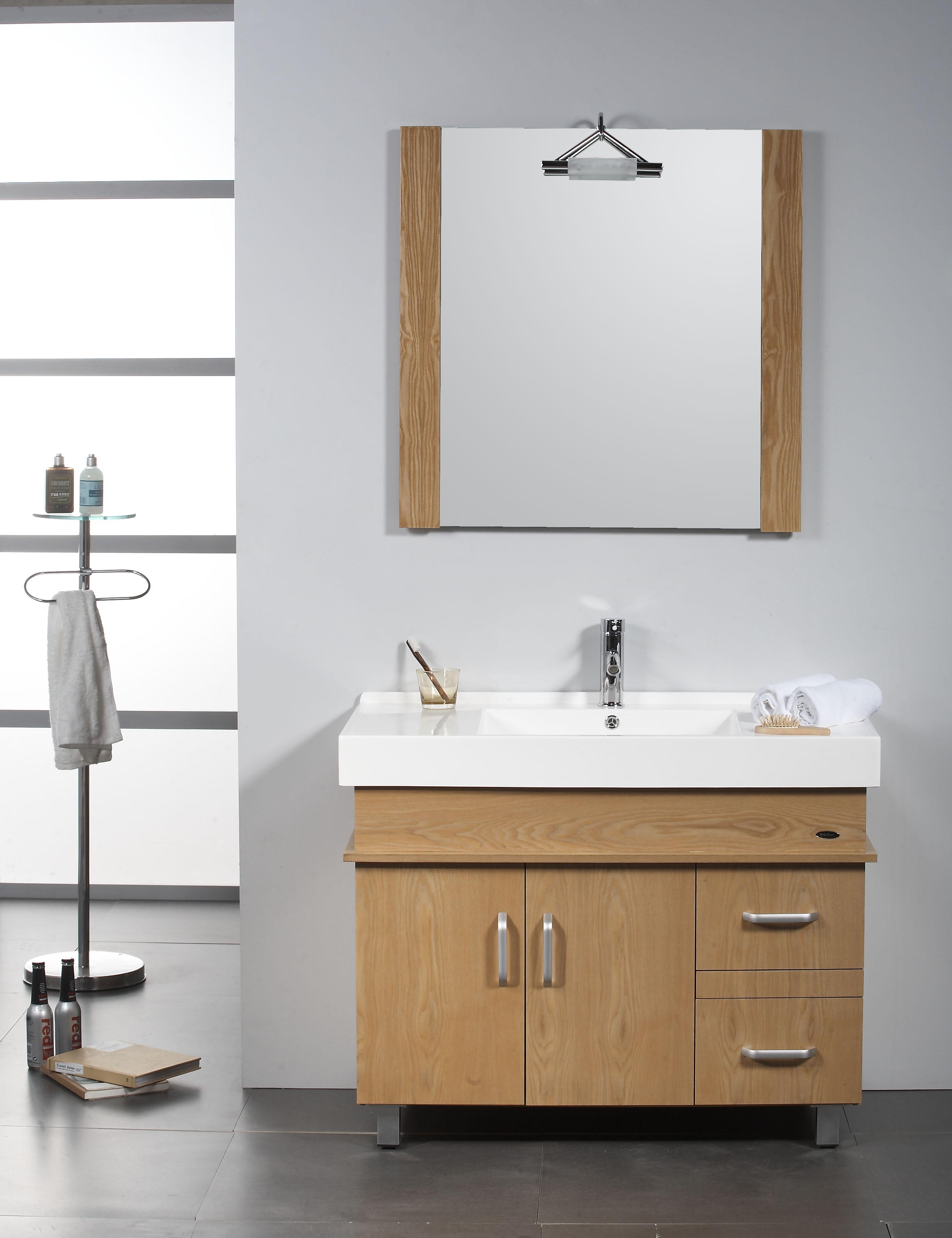 armario em madeira para banheiro