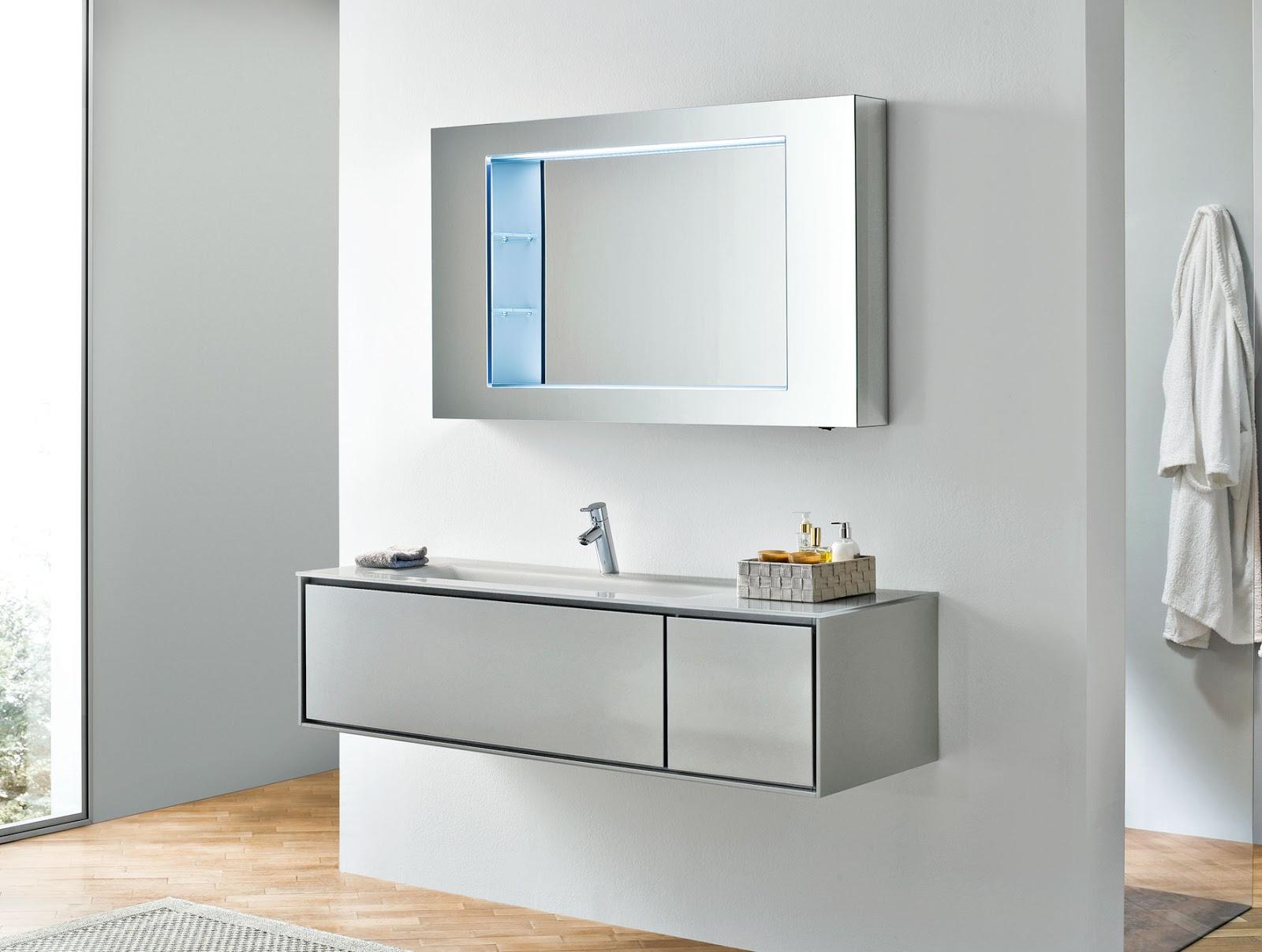 armario para banheiro minimalista