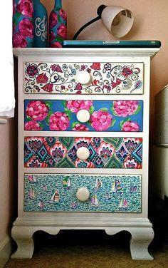 armarios decorativos estampas