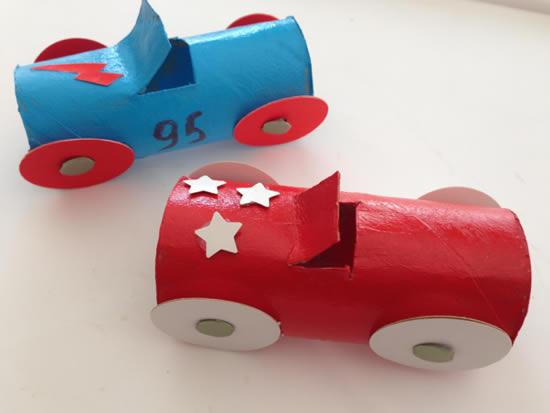 artesanato brinquedos dia criancas carrinhos