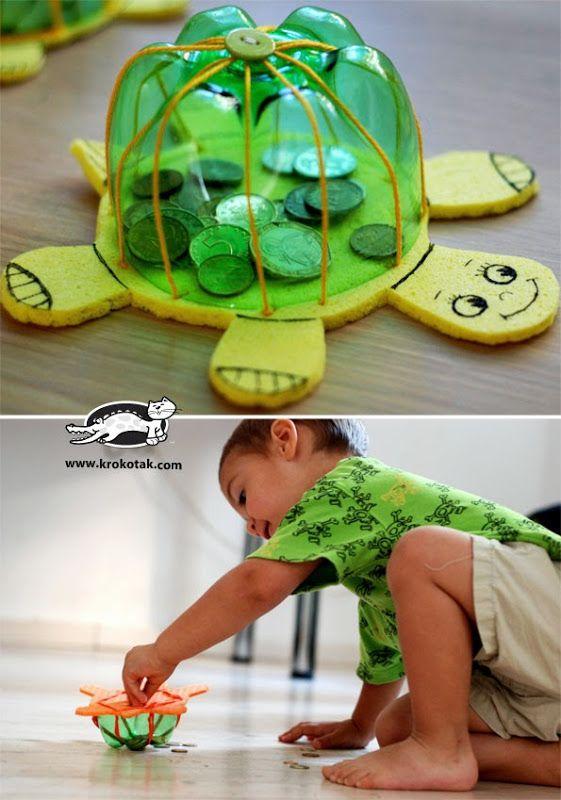 artesanato brinquedos dia criancas tartaruga