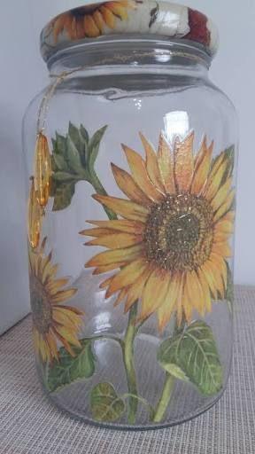 artesanato frasco vidro 9