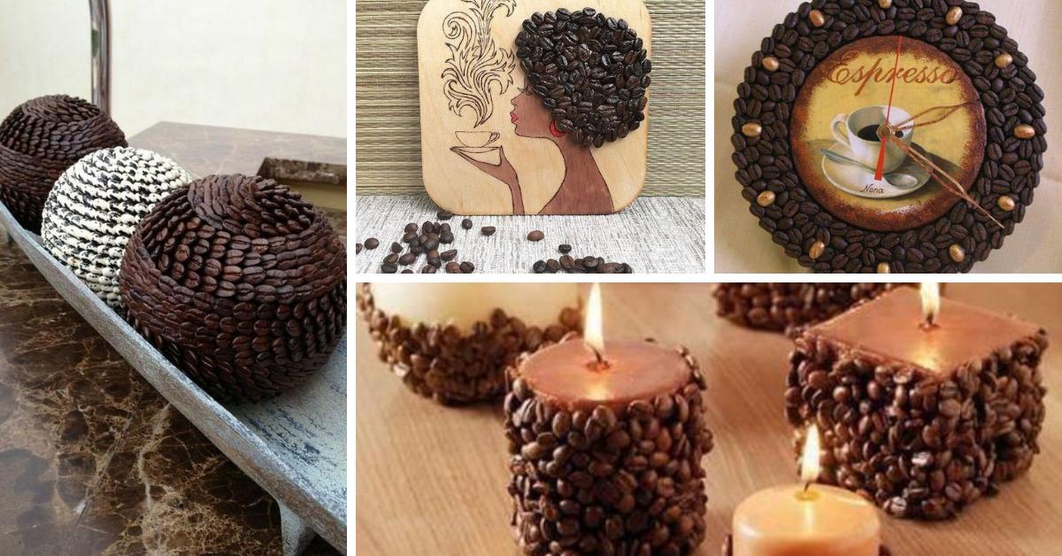 artesanato graos de cafe decoracao