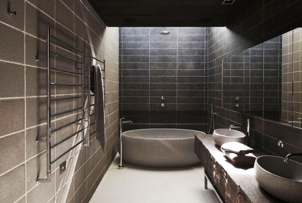 banheiro luxo moderno