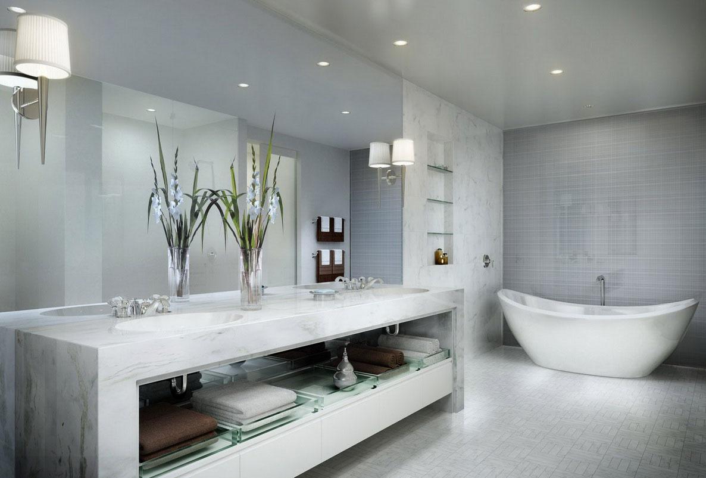 banheiro moderno simples