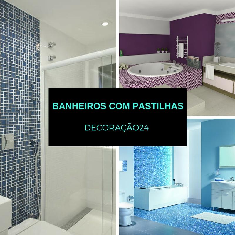 banheiros com pastilhas