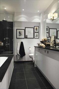 banheiros pretos brancos decorados 4