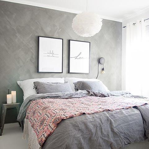 cabeceira cama papel parede
