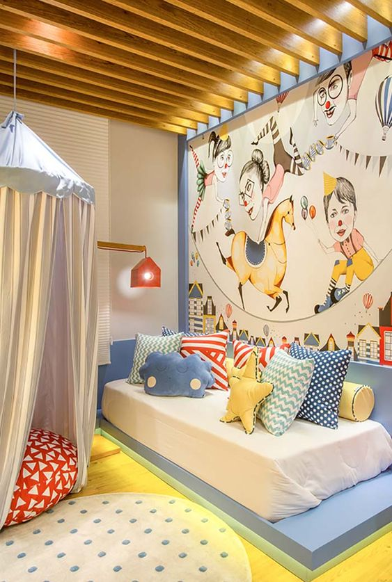 cama japonesa infantil simples