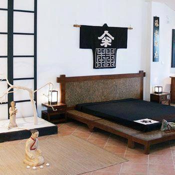 cama japonesa tradicional madeira