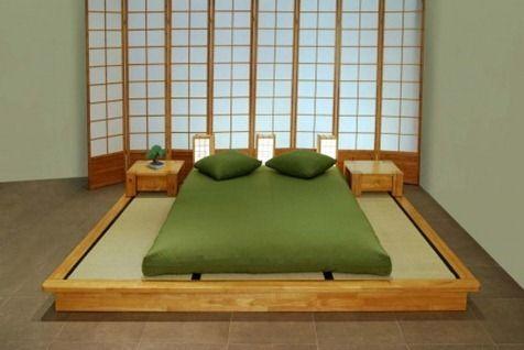 cama japonesa tradicional