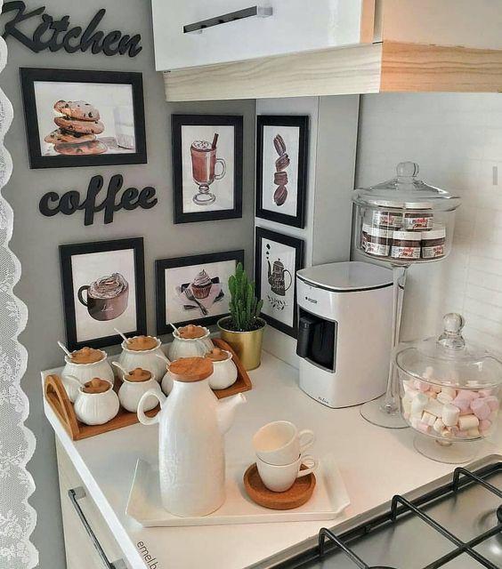 cantinho cafe decoraçao