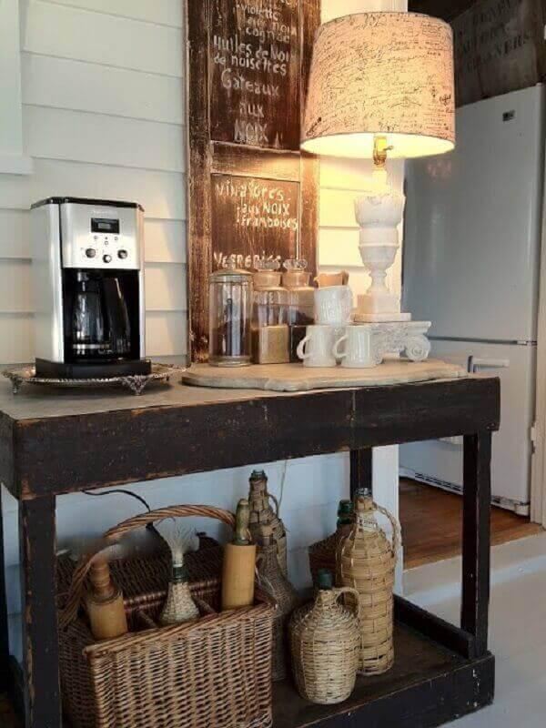 cantinho cafe rustico
