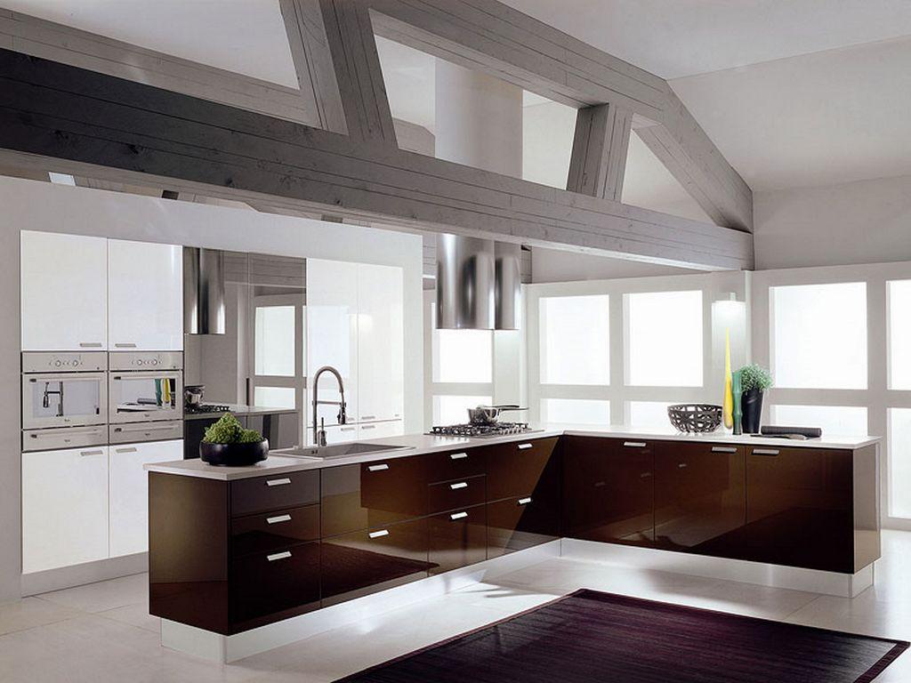 cozinha americana super moderna