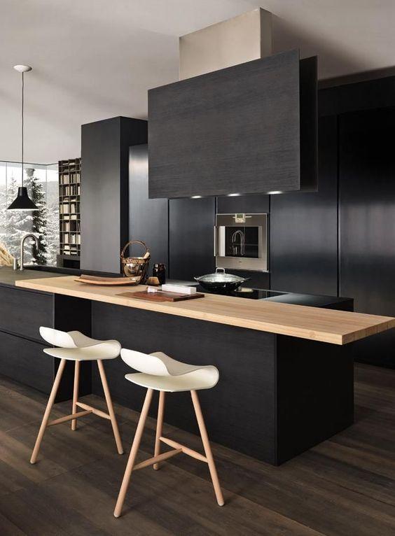 cozinha decorada preto 12