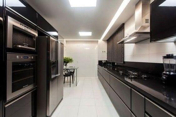 cozinha decorada preto 3