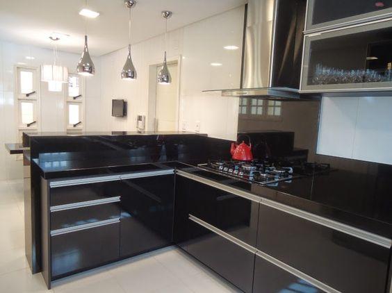 cozinha decorada preto 4