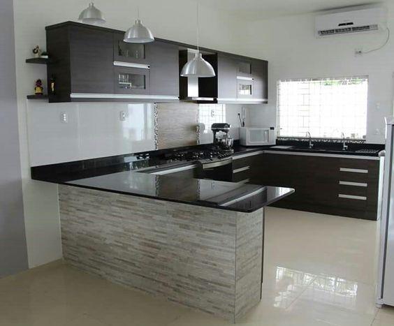 cozinha decorada preto 5