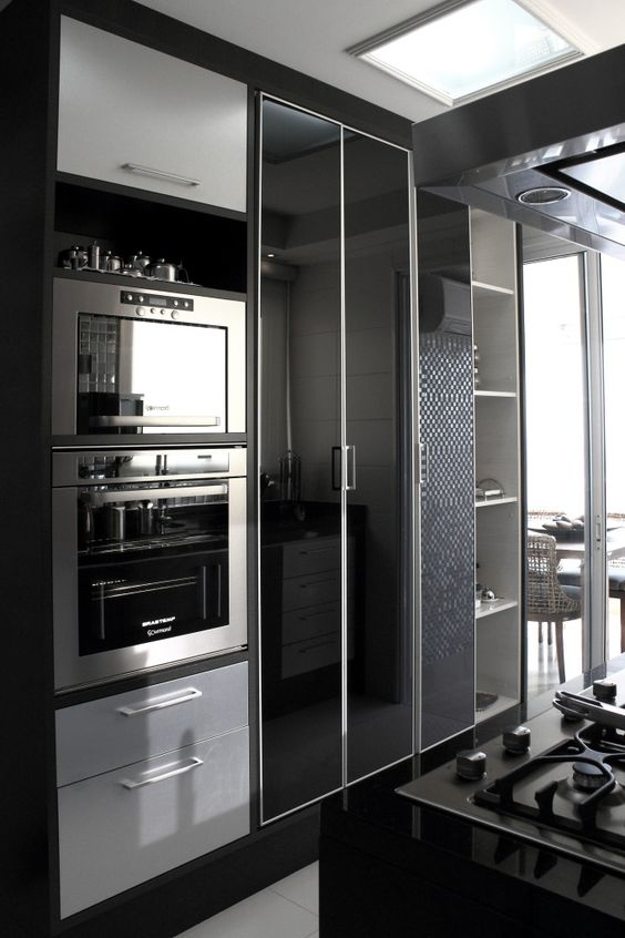 cozinha decorada preto 8